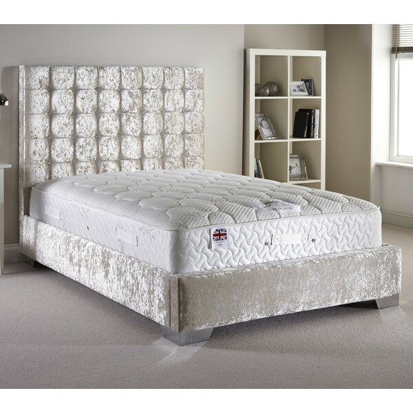fairmont park longridge upholstered bed frame u0026 reviews wayfaircouk
