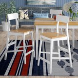 Finley 24 Bar Stool (Set of 2) by Beachcrest Home