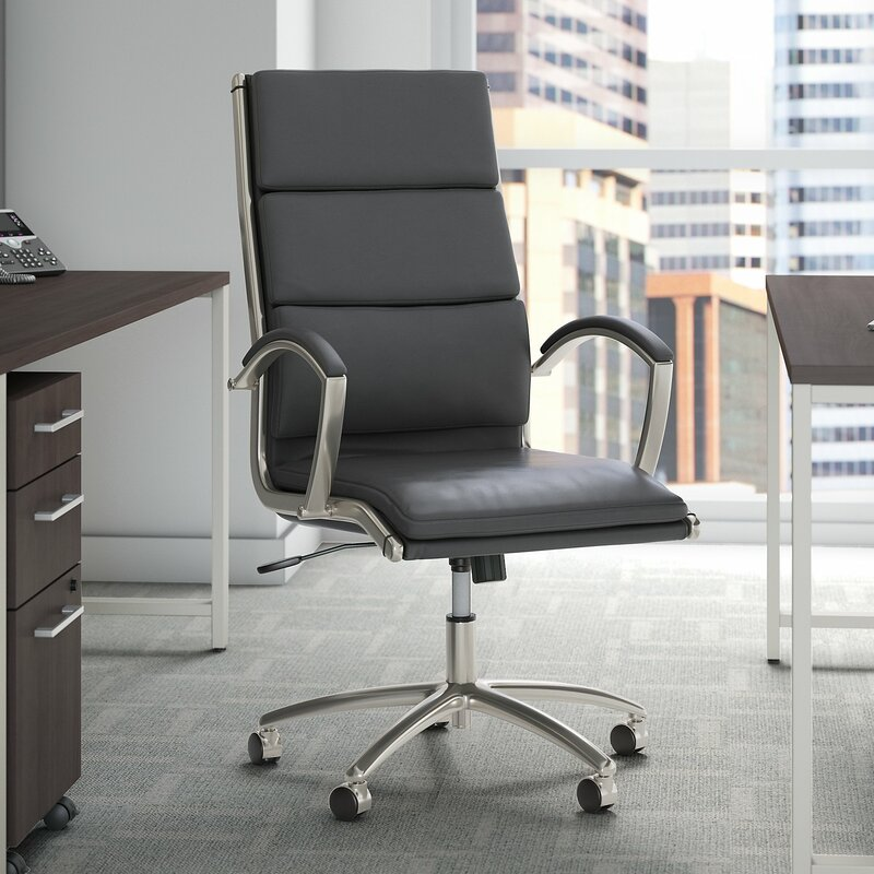 Bush Business Furniture Studio C High Back Conference Chair Reviews Wayfair