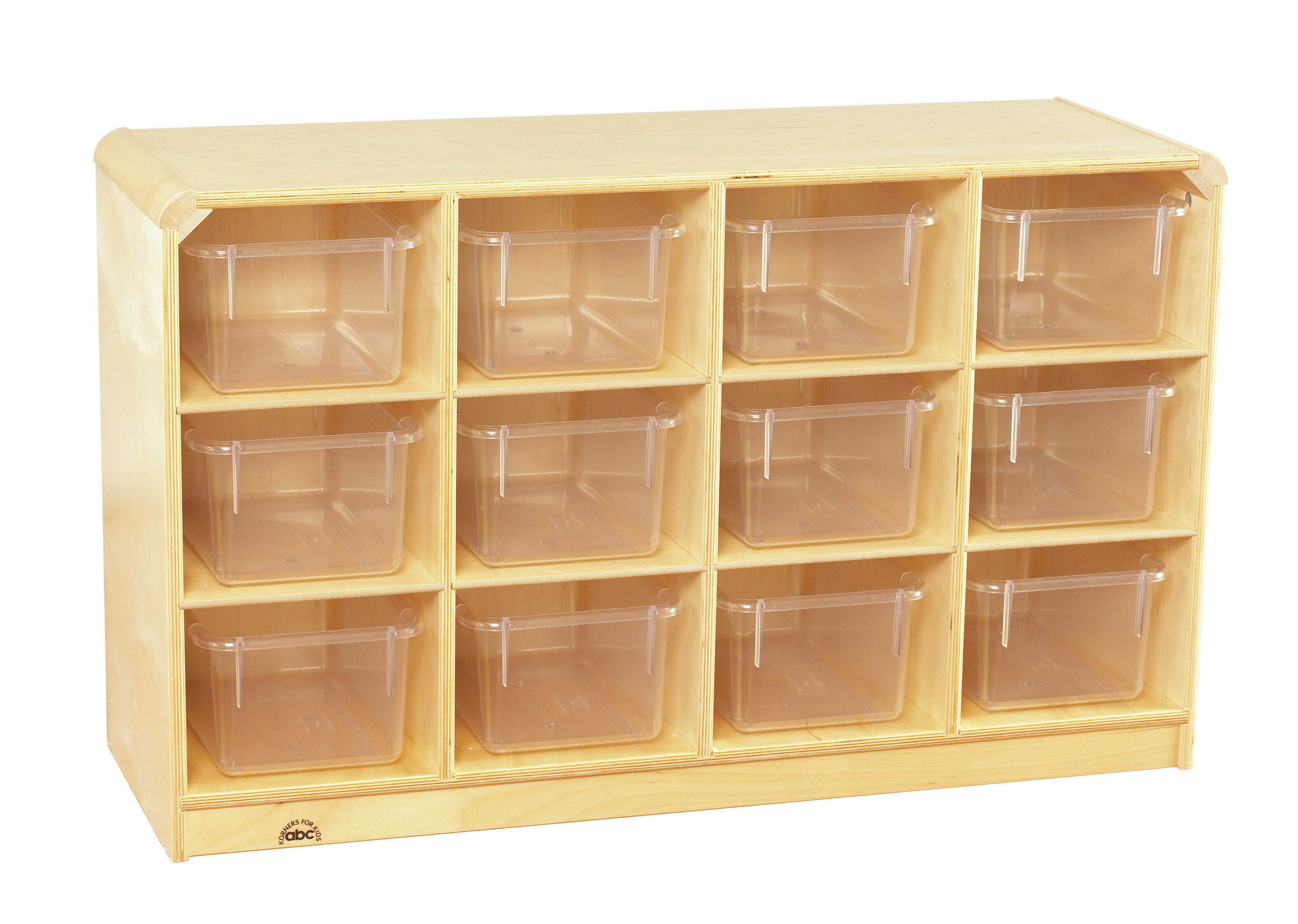 Childcraft Korners For Kids Toddler Mobile 12 Compartment Cubby With Trays Wayfair