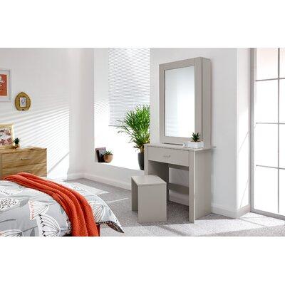 Schminktisch-Set Gumm mit Spiegel | Schlafzimmer > Kommoden | Urban Facettes