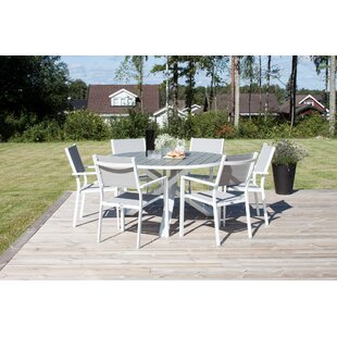 Akia 6 Seater Dining Set By Sol 72 Outdoor