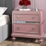Edel 2 Drawer Nightstand by House of Hampton®
