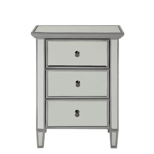 Benoit 3 Drawer Accent Chest by House of Hampton