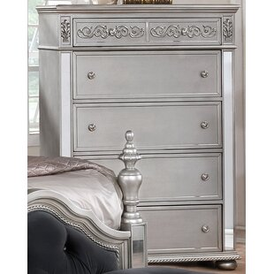 Rosdorf Park Nicolasa 5 Drawer Chest