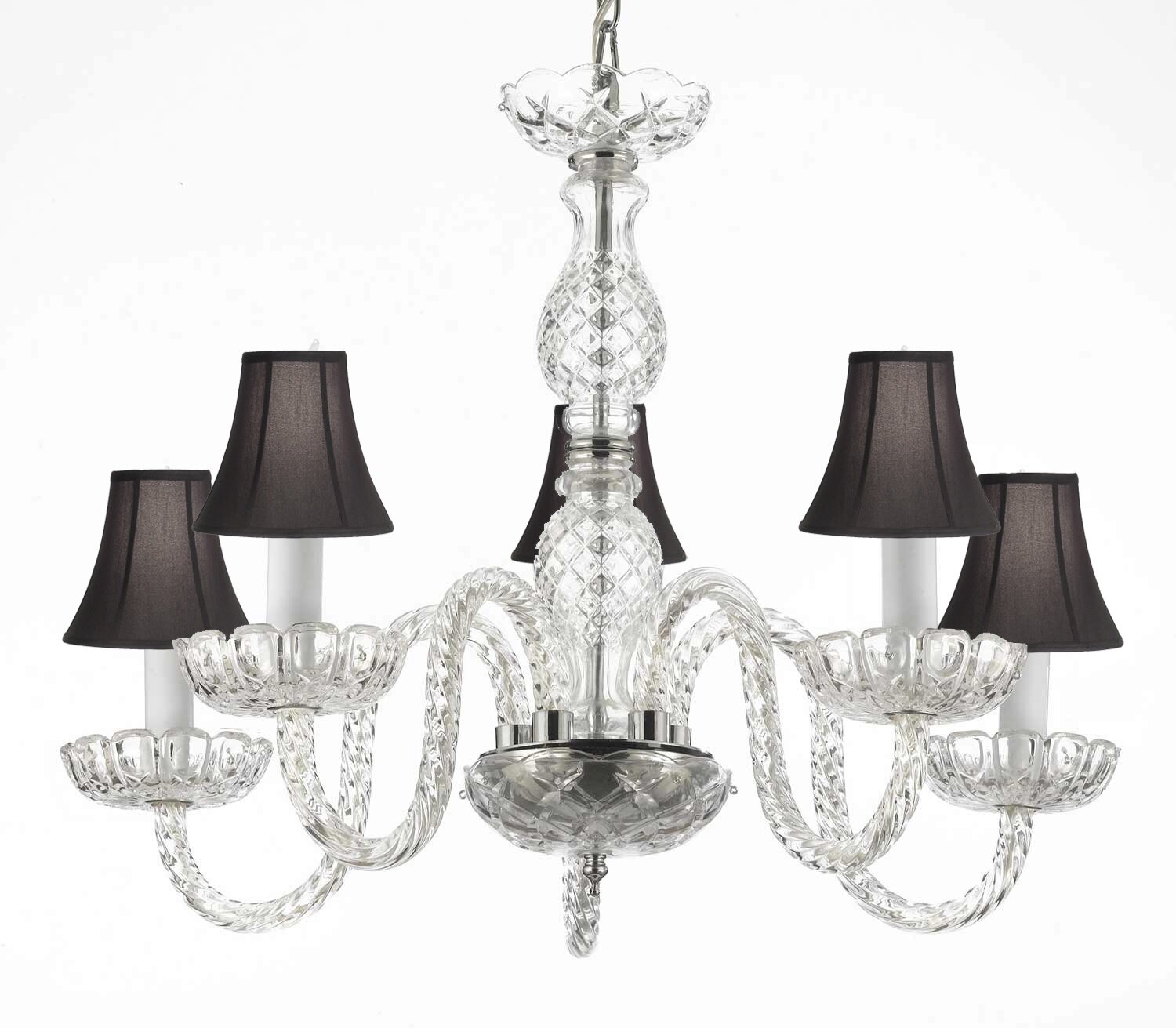 Rosdorf Park Bowerville 5 Light Shaded Classic Traditional Chandelier Wayfair