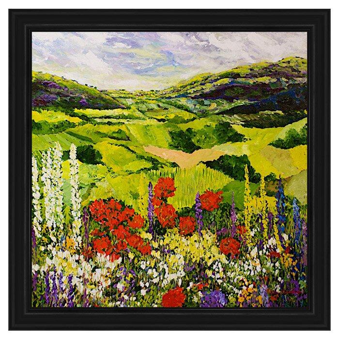 Ptm Tuscan Vineyard Framed Painting Print Wayfair