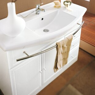 Acquaviva Archeda Ceramic Specialty Drop-In Bathroom Sink with Overflow