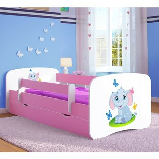 Inniss Convertible Toddler Bed With Mattress And Drawer By Zipcode Design