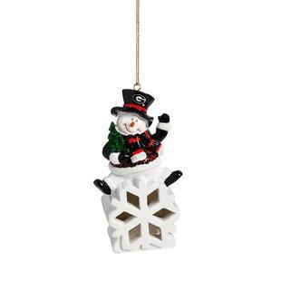 NCAA Snowman LED Ornament ByEvergreen Enterprises, Inc