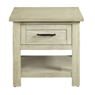 Casarez End Table with Storage