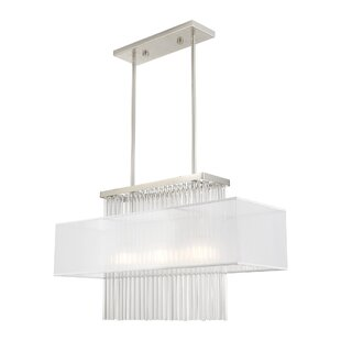 Hanson 3-Light Crystal Cha..