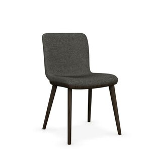 Annie Genuine Leather Upholstered Dining Chair