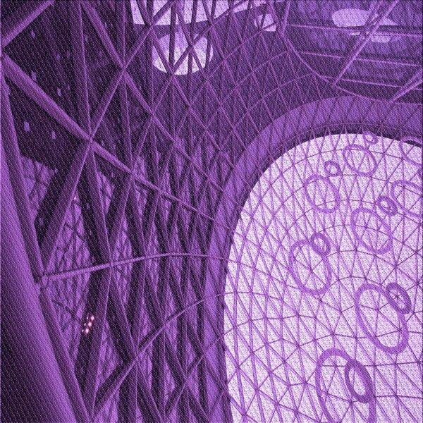 East Urban Home Geometric Wool Purple Area Rug Wayfair