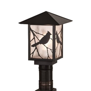 Reviews Yeomans Song Bird 1-Light 13.5 Post Light By Loon Peak