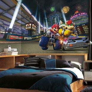 Super Mario Wall Mural | Wayfair