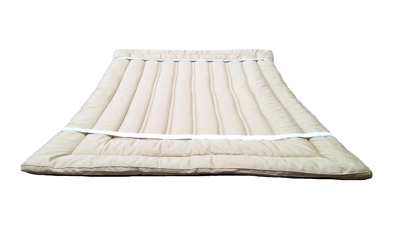 Sleep Beyond 1 5 Wool Mattress Topper Reviews Wayfair