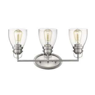Price Check Durso Contemporary 3-Light Vanity Light By Breakwater Bay