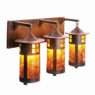 Steel Partners Pasadena 3-Light Vanity Light
