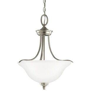 Darby Home Co Busti 3-Light Bowl Pendant