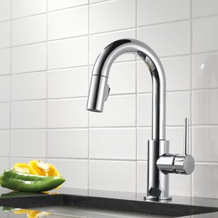 Trinsic Pull Down Bar Faucet with MagnaTite® Docking and Diamond Seal Technology