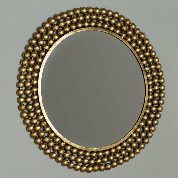 9e52dd02b086 Round Metal Framed Mirror