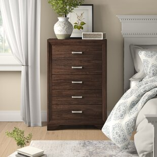 Bargain Covington 5 Drawer Chest by Wrought Studio