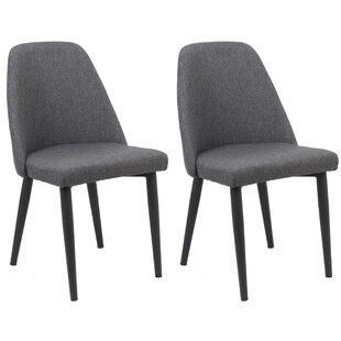 Goggin Upholstered Dining Chair (Set of 2) Wrought Studio