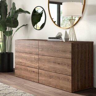 Karr 6 Drawer Double Dresser
