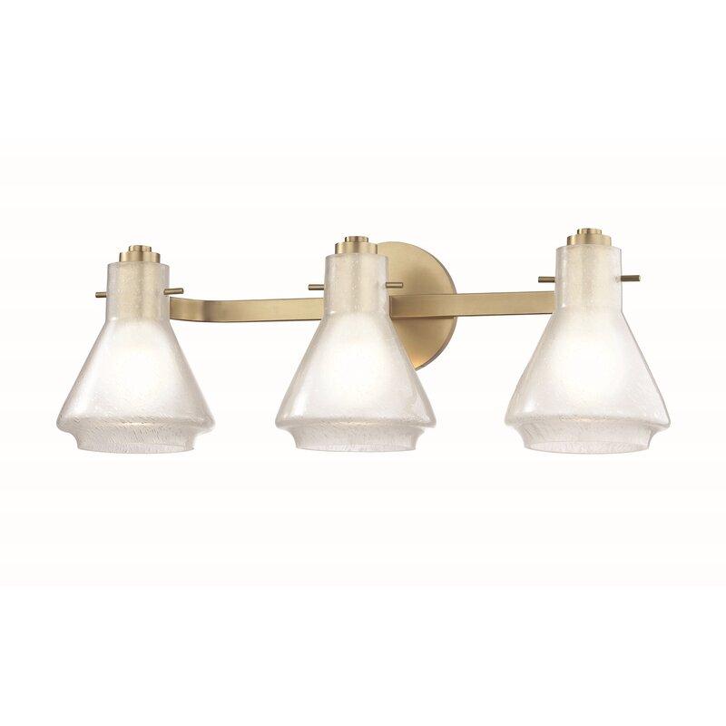 Corrigan Studio Wolk 3 Light Dimmable Vanity Light Wayfair