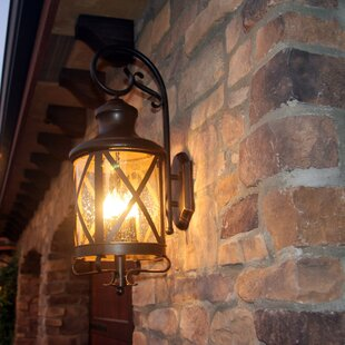 Fairbury Outdoor Wall Lantern By Three Posts Outdoor Lighting