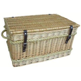 Rope Handled Trunk By Beachcrest Home