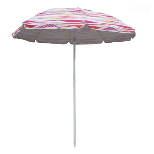 6.5' Beach Umbrella by Pure Weather