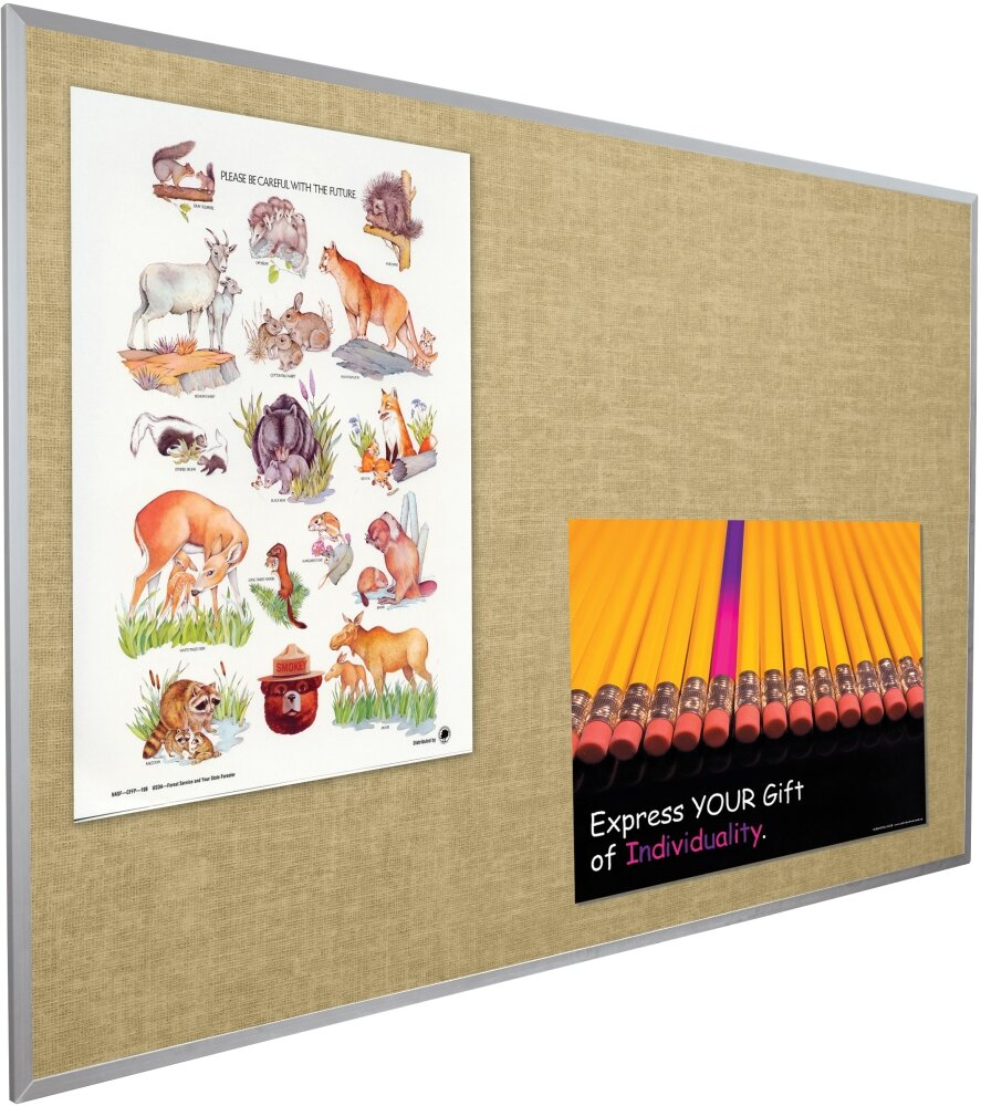 Best-Rite Vin-Tak Wall Mounted Bulletin Board & Reviews   Wayfair