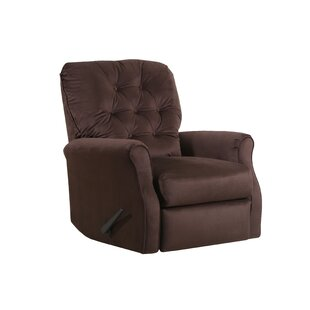 DeSoto Manual Rocker Recliner Red Barrel Studio