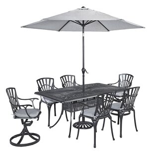 Frontenac Swivel Patio Dining Chair with Cushion
