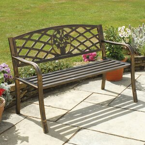 Coalbrookdale 2 Seater Steel Bench