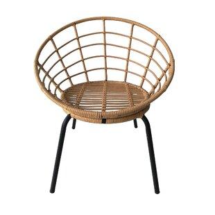 Bianchi Metal Barrel Chair