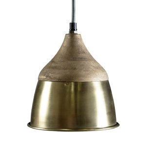 Bungalow Rose Hightower 1-Light Dome Pendant