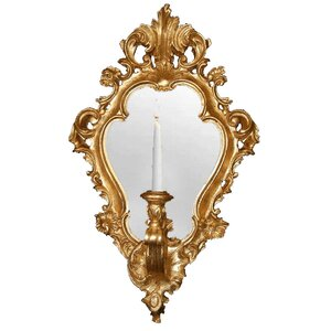 Regence Candle Sconce with Mirror