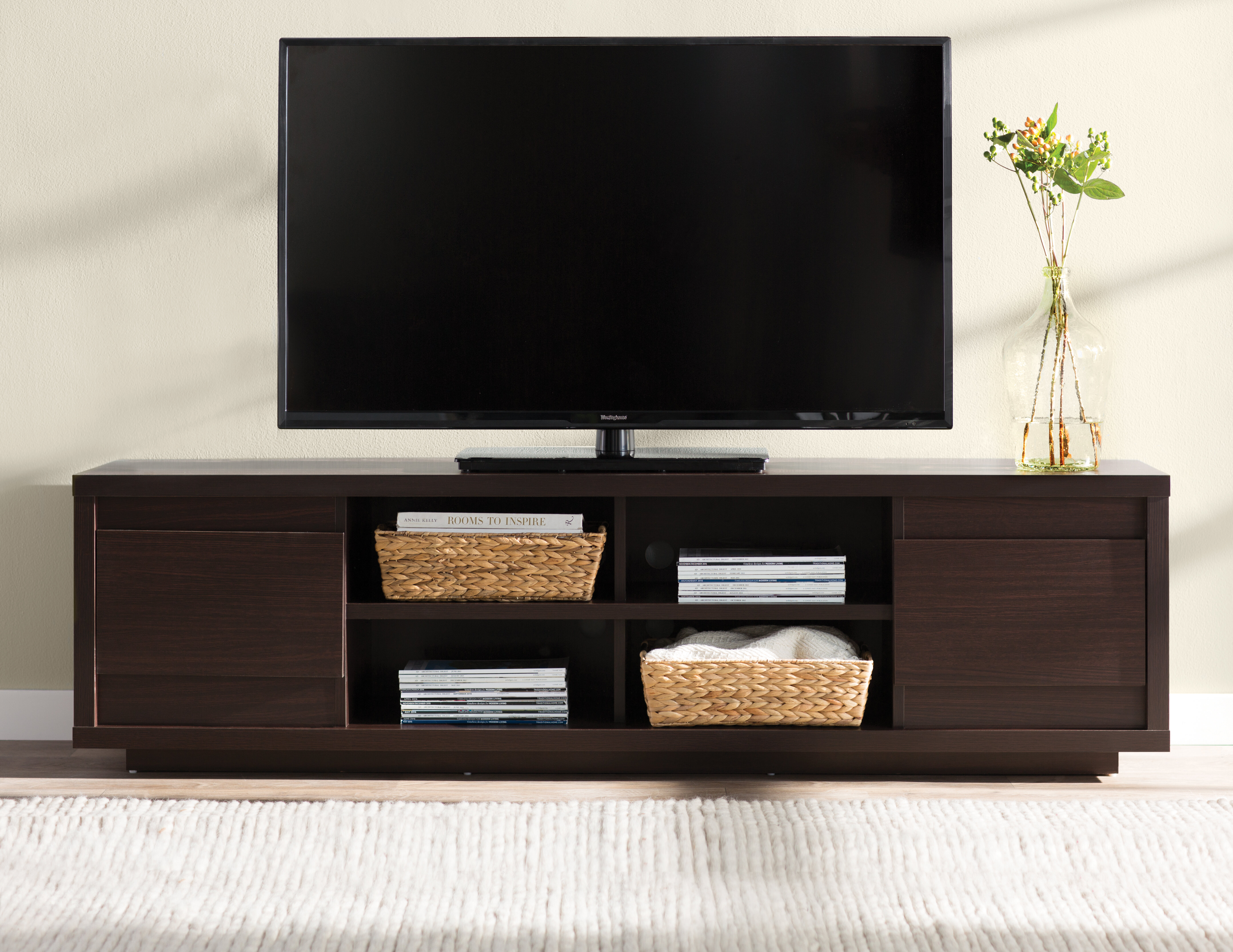 Wade logan leetsdale tv stand for tvs up to 70 reviews wayfair