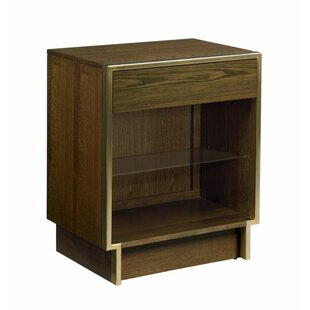 Samira Open 1 Drawer Nightstand by Foundry Select