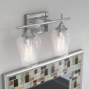 Best Jordon 2-Light Vanity Light By Zipcode Design