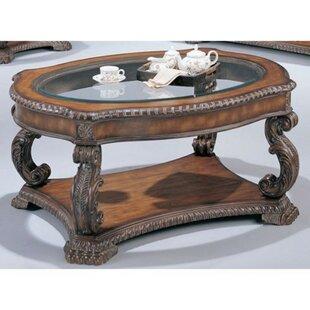 Astoria Grand Jobe Serpentine Coffee Table