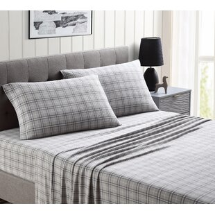 Grogan Ultra Plush Plaid Sheet Set