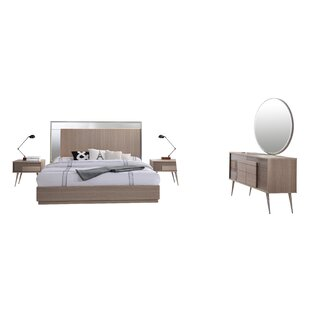 Brazil Platform 5 Piece Bedroom Set