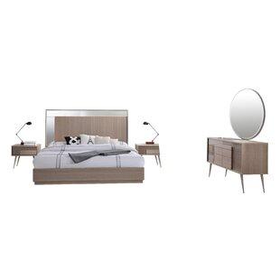 Brazil Platform 5 Piece Bedroom Set