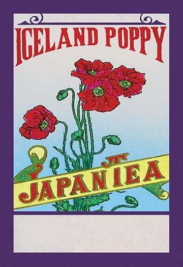 Buyenlarge Iceland Poppy Tea Vintage Advertisement Wayfair
