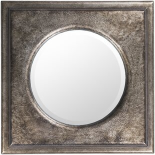 Bungalow Rose Vermilion Wall Mounted Mirror