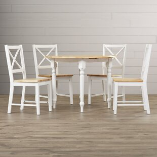 Ilaria 5 Piece Dining Set by Andover Mills Discount
